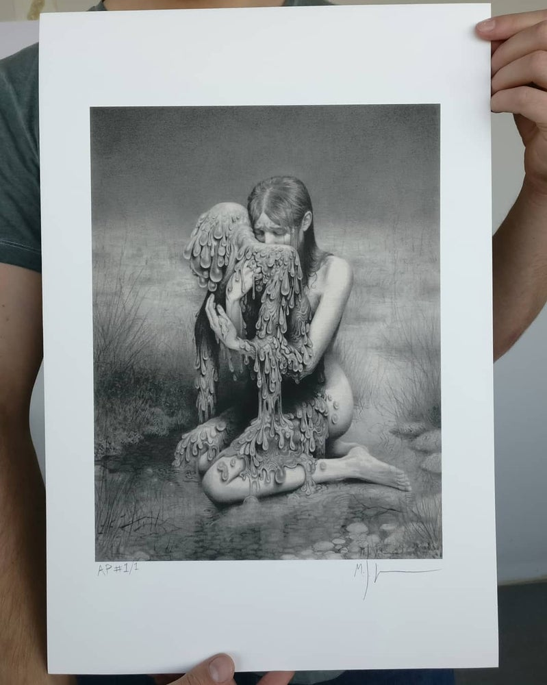Image of Loss Limited Edition Print by Miles Johnston - Timed Release