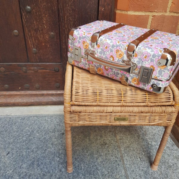 Image of Liberty Petite Valise Suit case -  Betsy Peonia