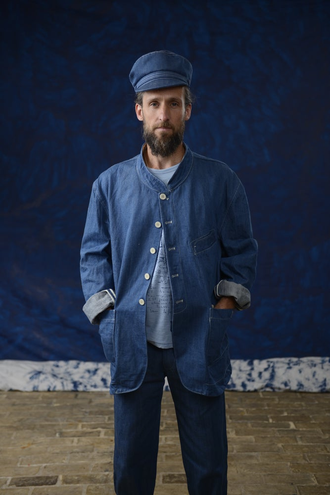 Image of ARLES JACKET DENIM £440.00