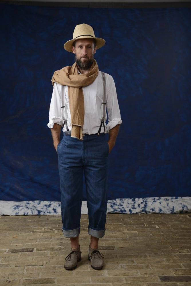 Image of ARLES TROUSER DENIM £315.00