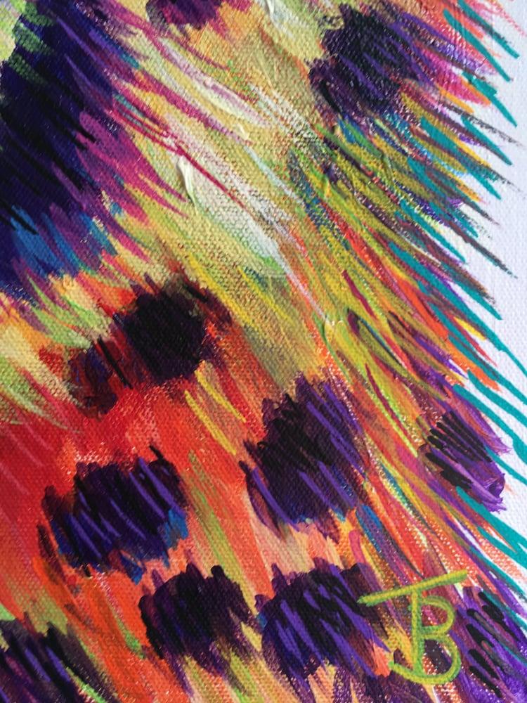 Image of Rainbow Cheetah Print