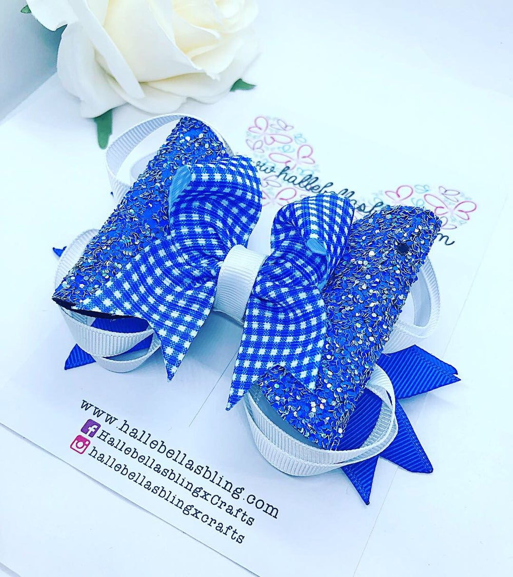 Image of Back to school summer bow