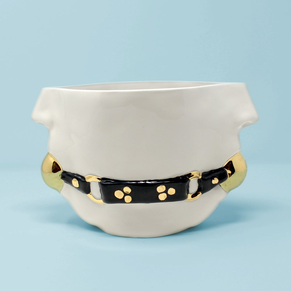 Image of Gag Bowl with 22kt Gold