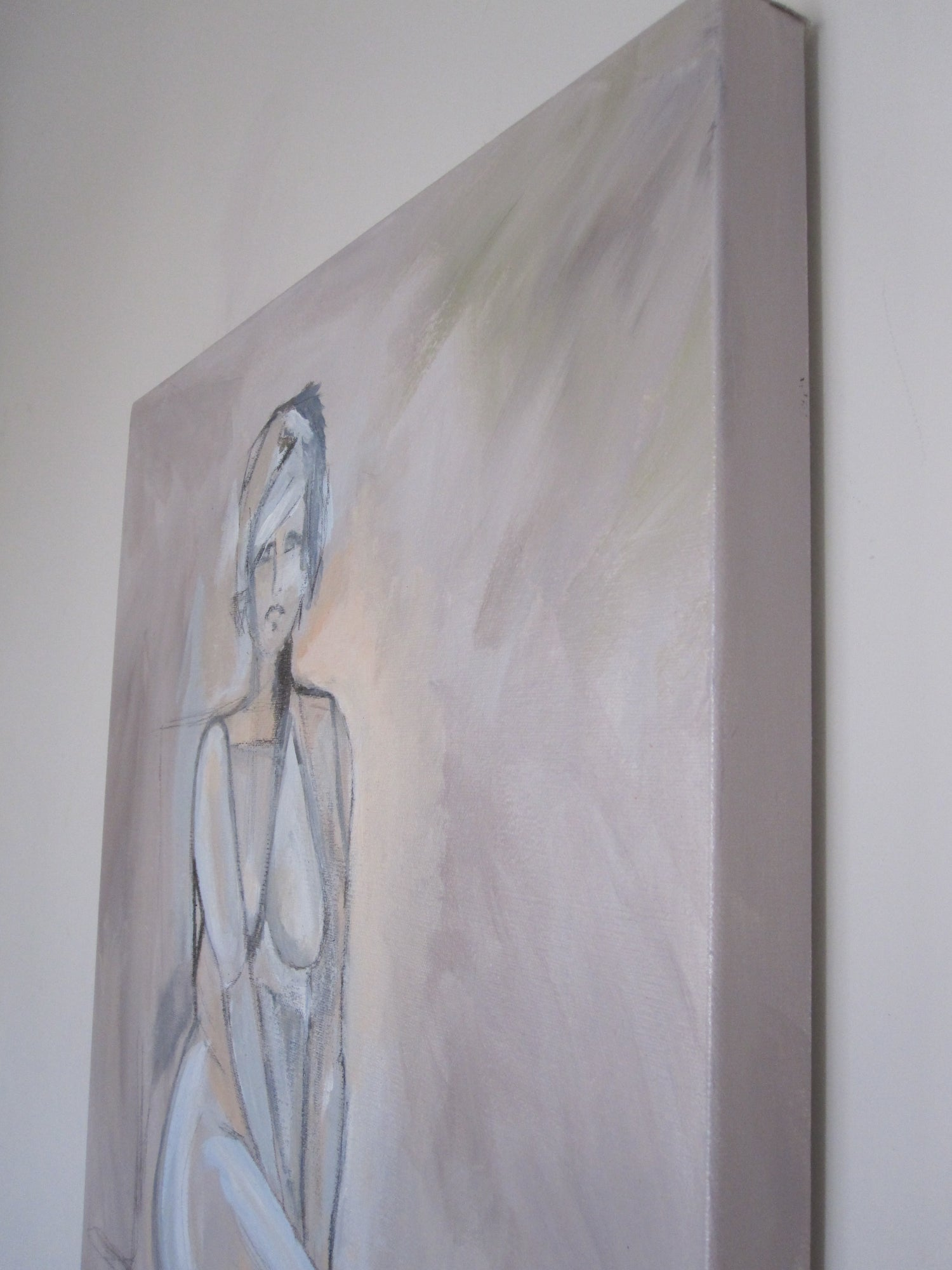 Image of Abstract nude on 18 x 24 canvas