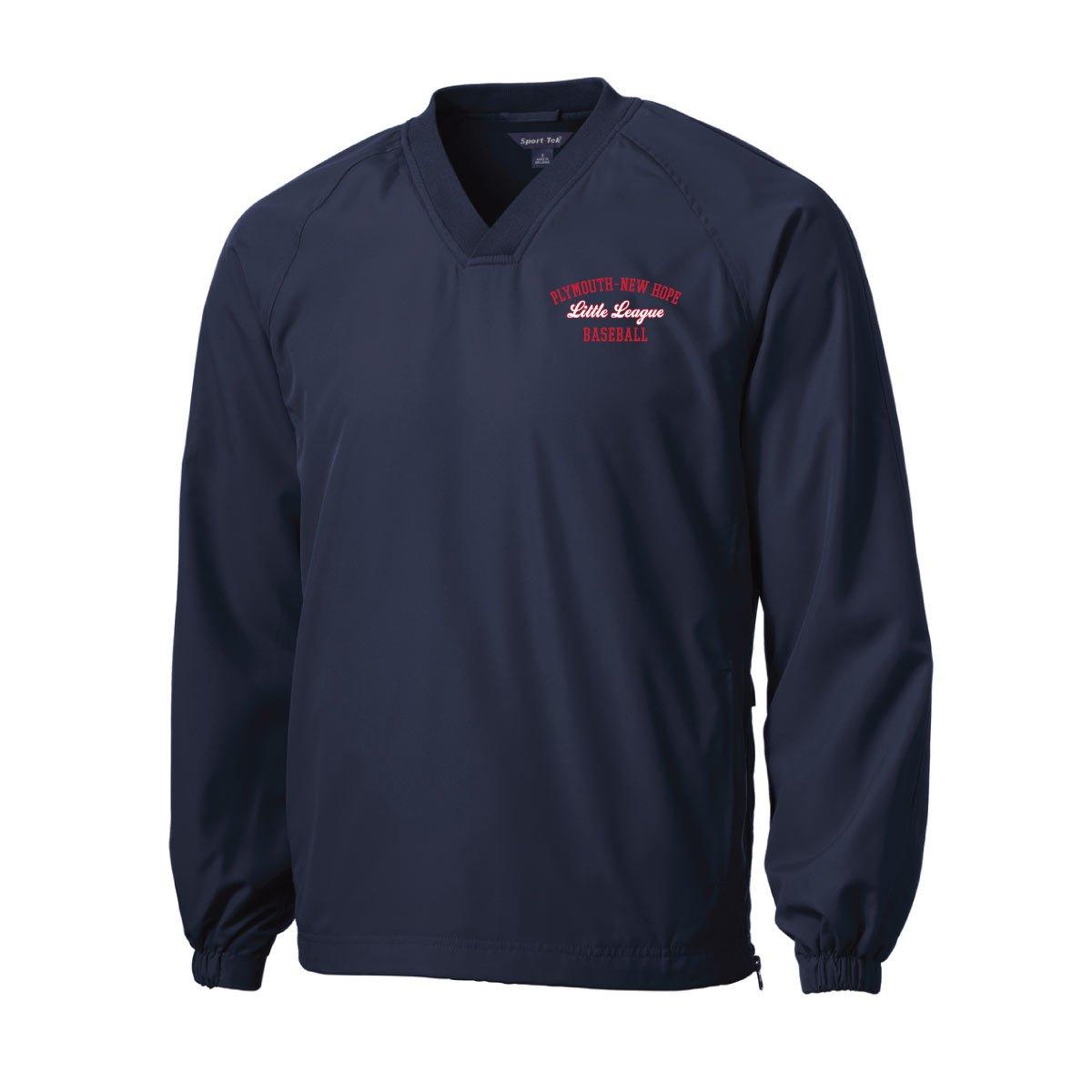 Image of Sport-Tek® V-Neck Raglan Wind Shirt