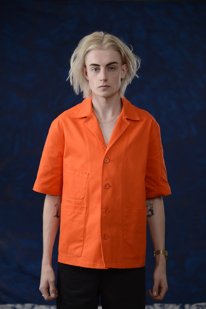 Image of THEO SHIRT Orange