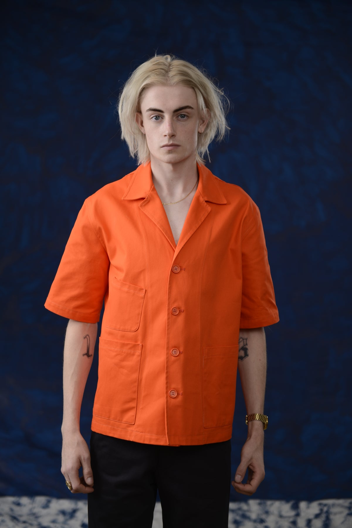 Image of THEO SHIRT Orange £195.00