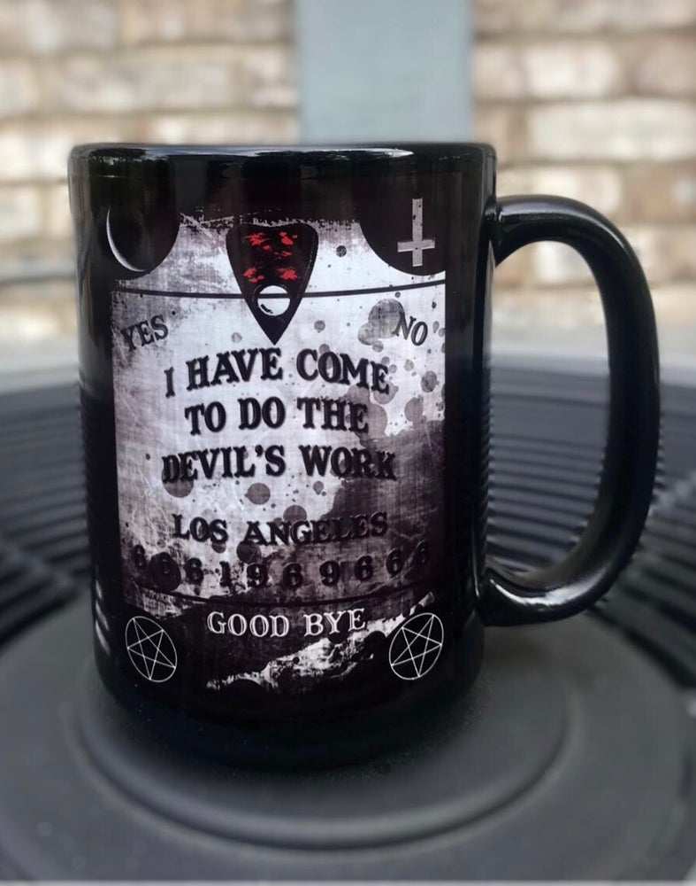 Image of Devil's Work Mug + Tee/Tank Bundle
