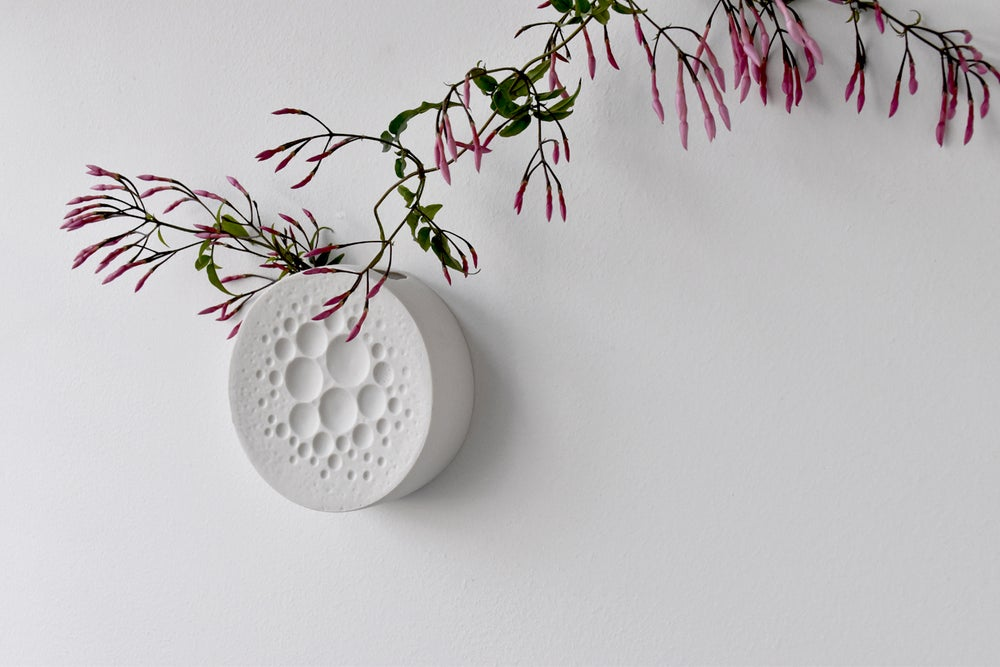 Image of BUBBLES WALL VASE