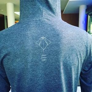 Image of Dessa 'Grade School Games' Hooded Longsleeve Shirt