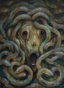 "Image of ""Medusa"" Canvas Giclee 11x14"""