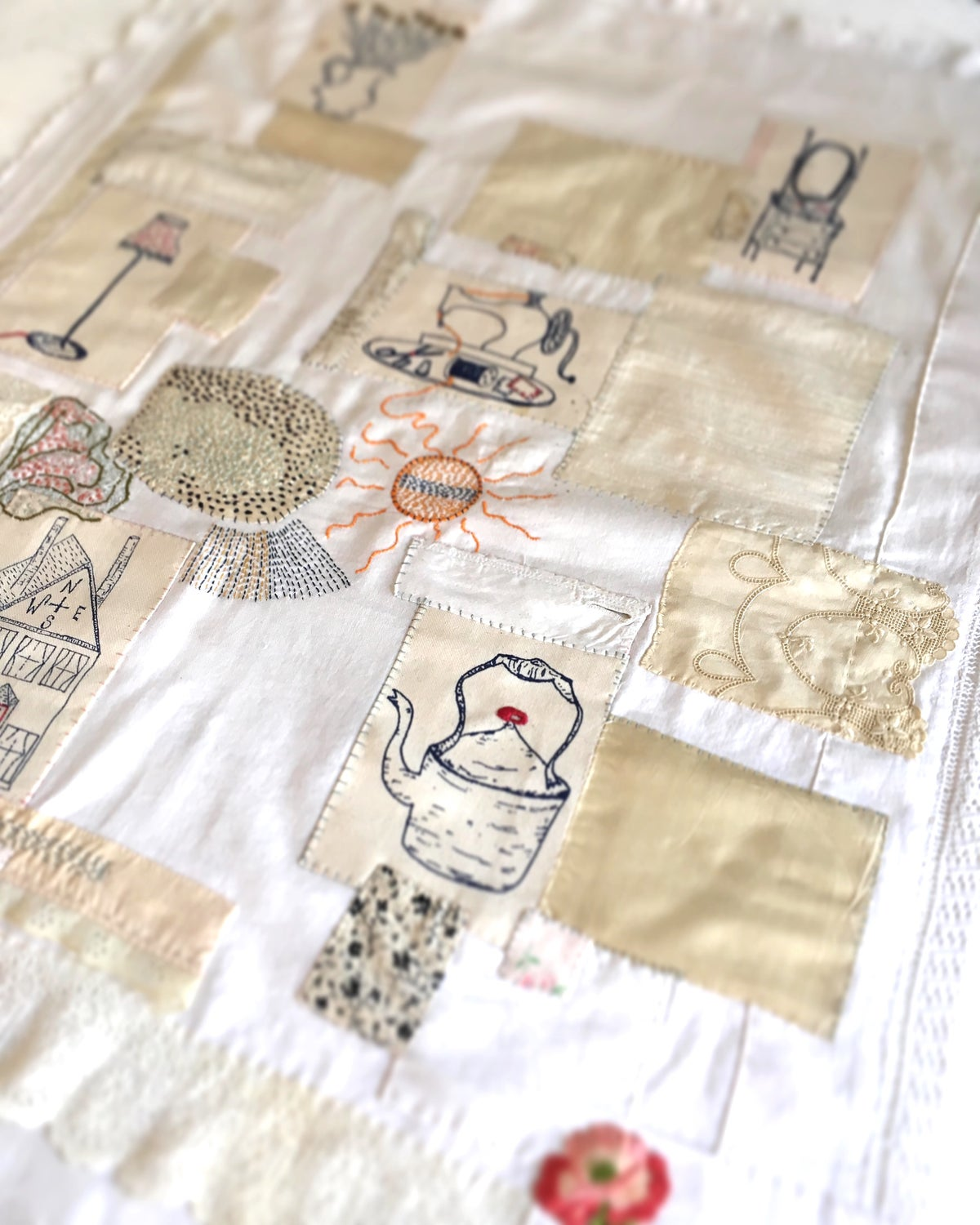 Image of Six Embroidery Templates