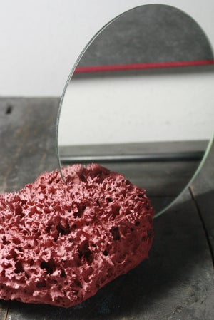 Image of CORAL.LESS vanity mirror RED