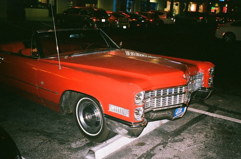 "Image of ""Red Cadillac"" Photo Print"