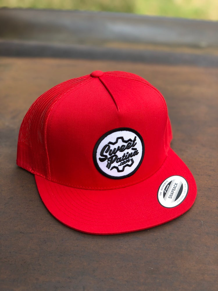 Image of Red SnapBack