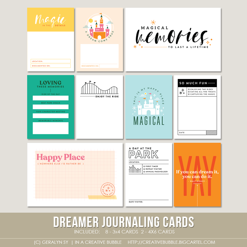 Image of Dreamer Journaling Cards (Digital)