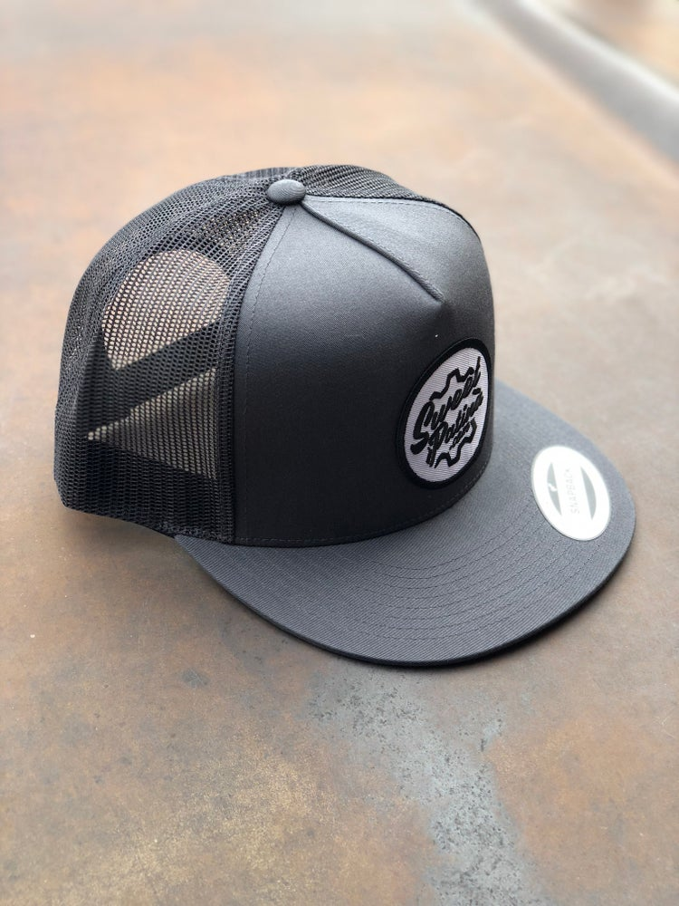 Image of Solid Charcoal SnapBack