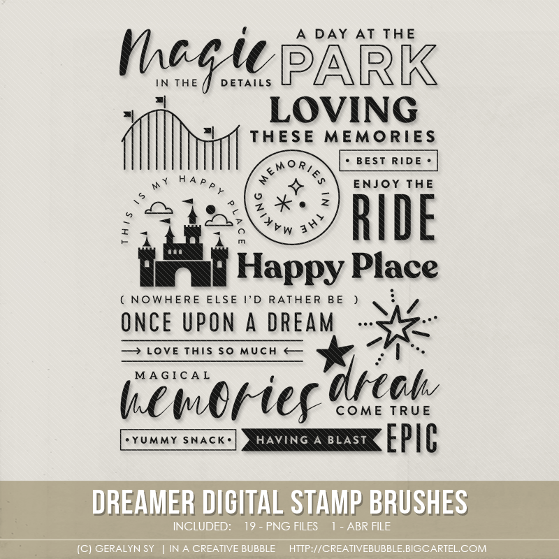 Image of Dreamer Stamp Brushes (Digital)