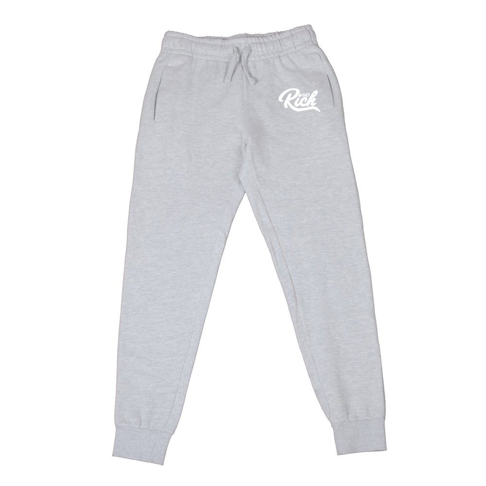 Image of Get Rich - Men's Joggers (Grey)