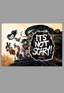 Image of IT'S NOT SCARY! signed hardcover (PRE-ORDER)