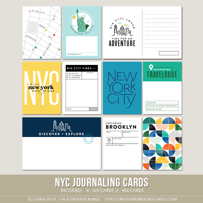 Image of NYC Journaling Cards (Digital)
