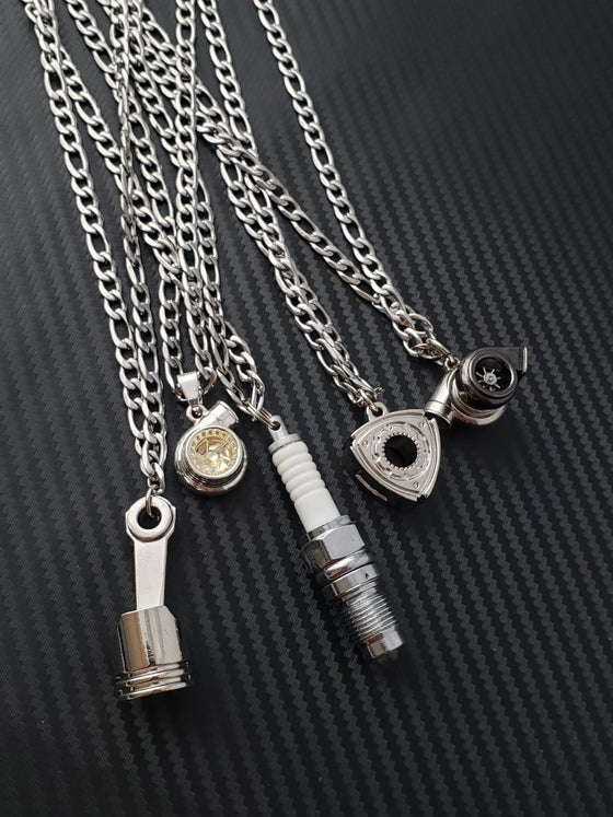 Image of Men's Car Part Necklaces