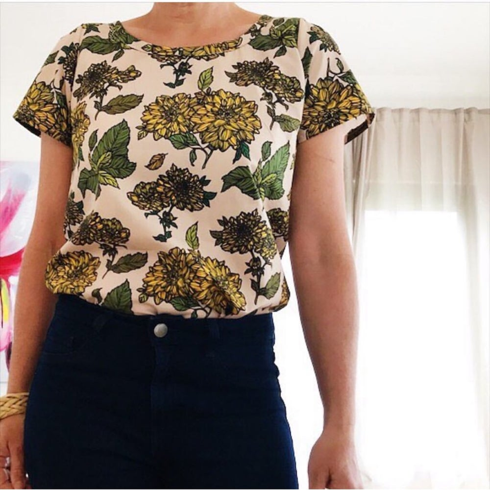 Image of Custom Peggy Top- choose your fabric