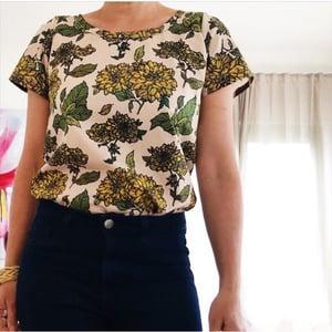 Custom Peggy Top- choose your fabric