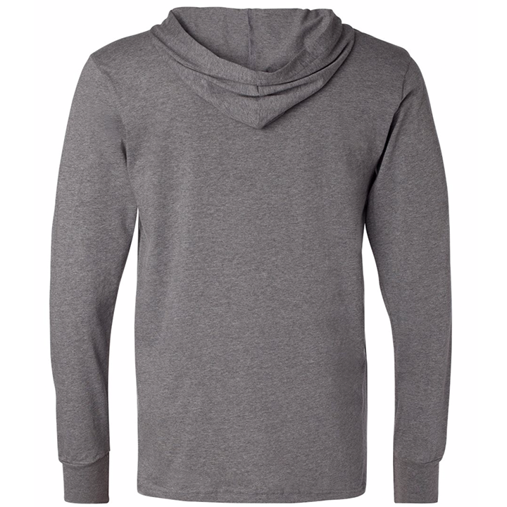 Image of INT'L Hooded LS (sports grey)