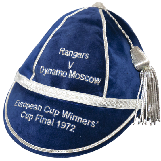 Image of Rangers Commemorative Cap - 1972 Cup Winners Cup