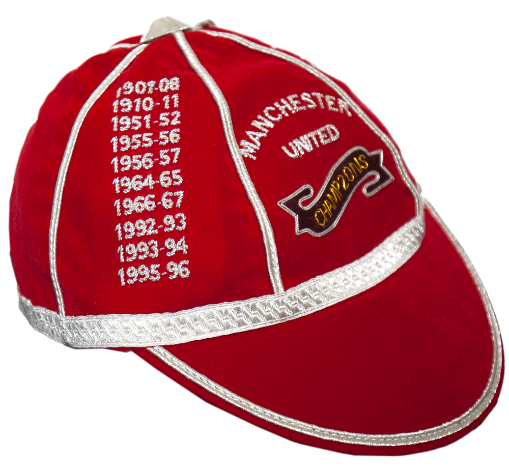 Image of Manchester United Commemorative Cap - 20 Champions of England
