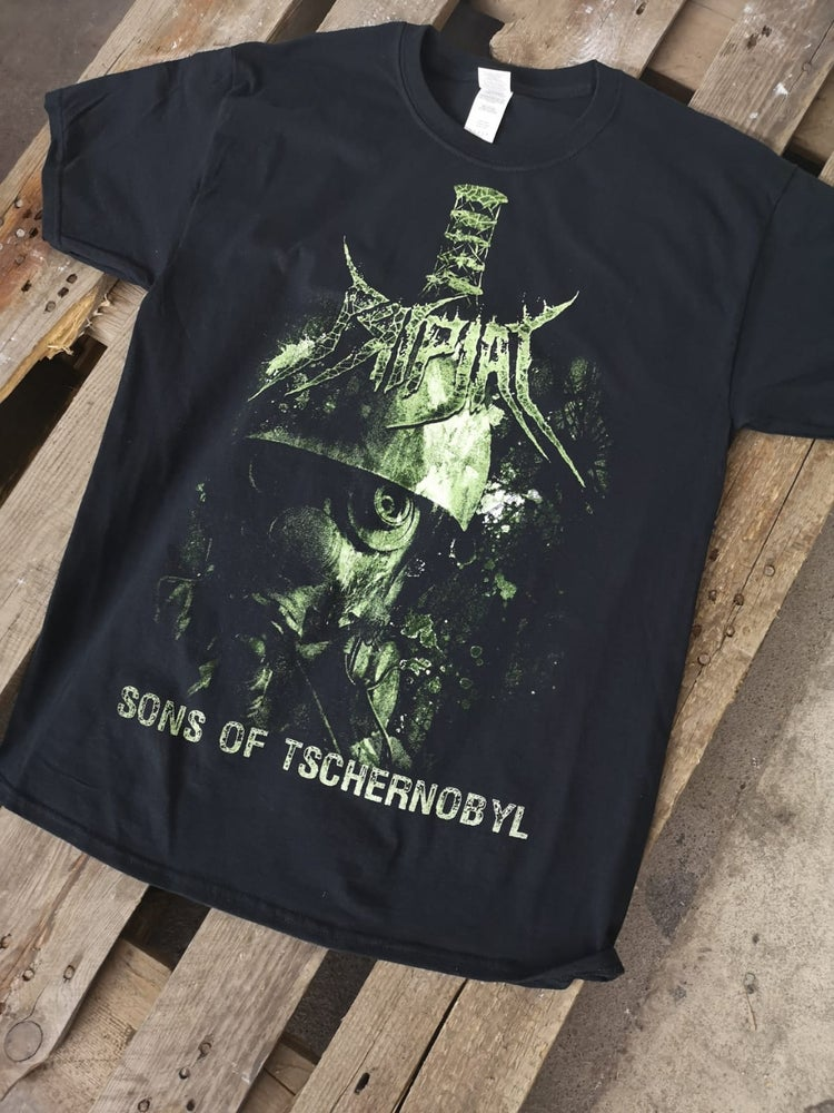Image of Sons Of Tschernobyl - Black Shirt with Backprint
