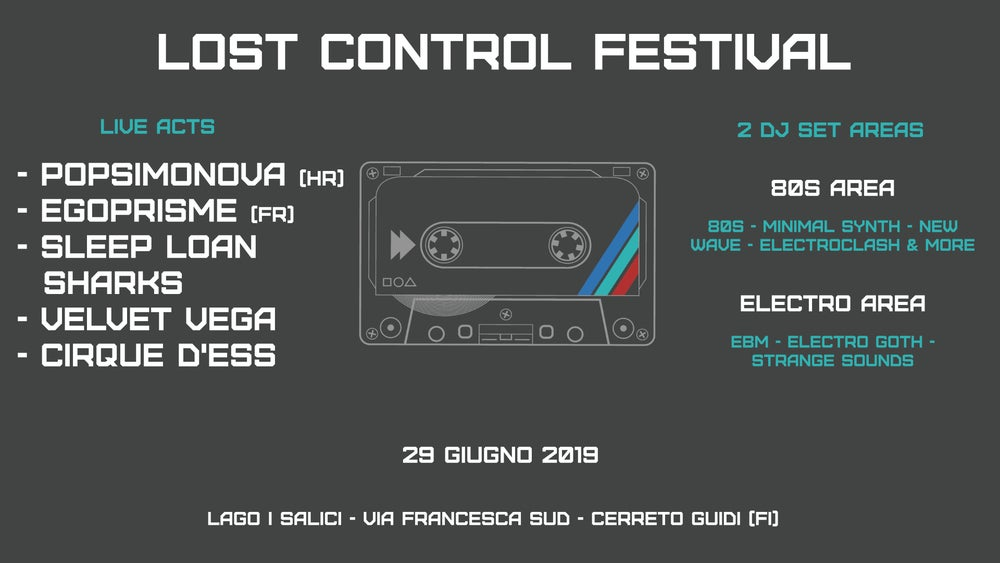 Image of Ticket - Lost Control Festival