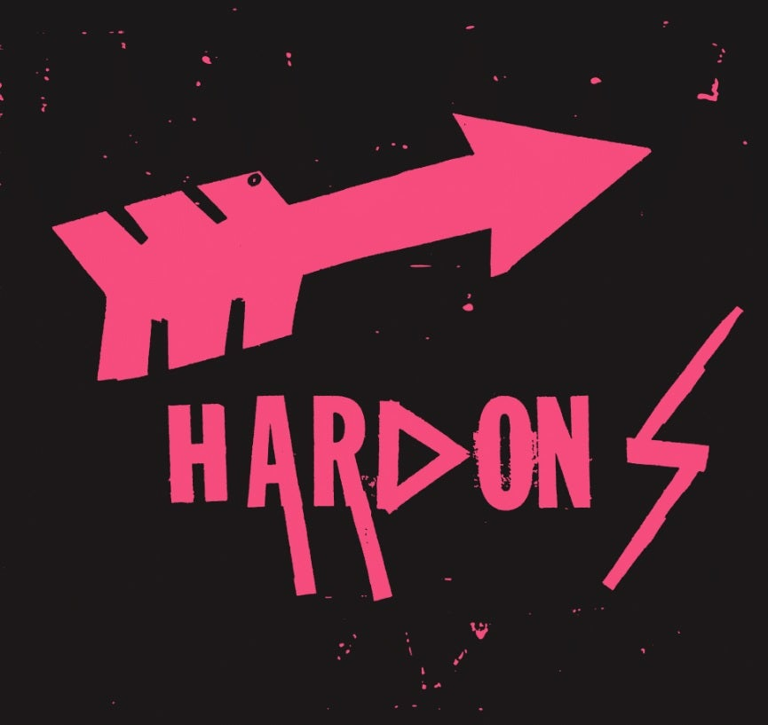 "Image of LCMR-020 THE HARDONS 7"" EP"