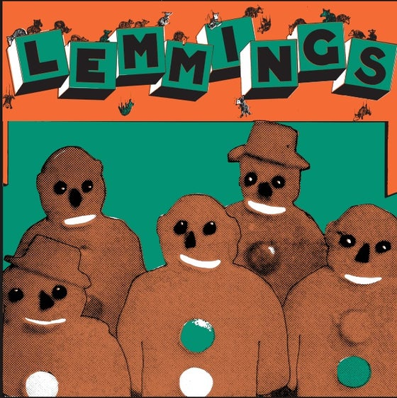"""Image of LCMR-021 THE LEMMINGS - SILLY AS A WHEEL 7"""""""
