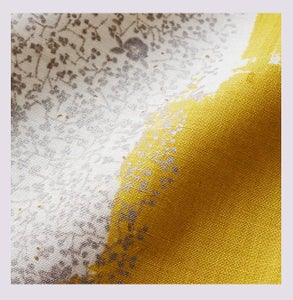 Image of Tissu: Wild flower yellow