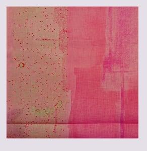 Image of Tissu: Wild flower pink