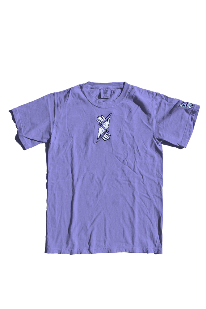 Image of **PRE-ORDER**: BUTTERFLY TEE - VIOLET