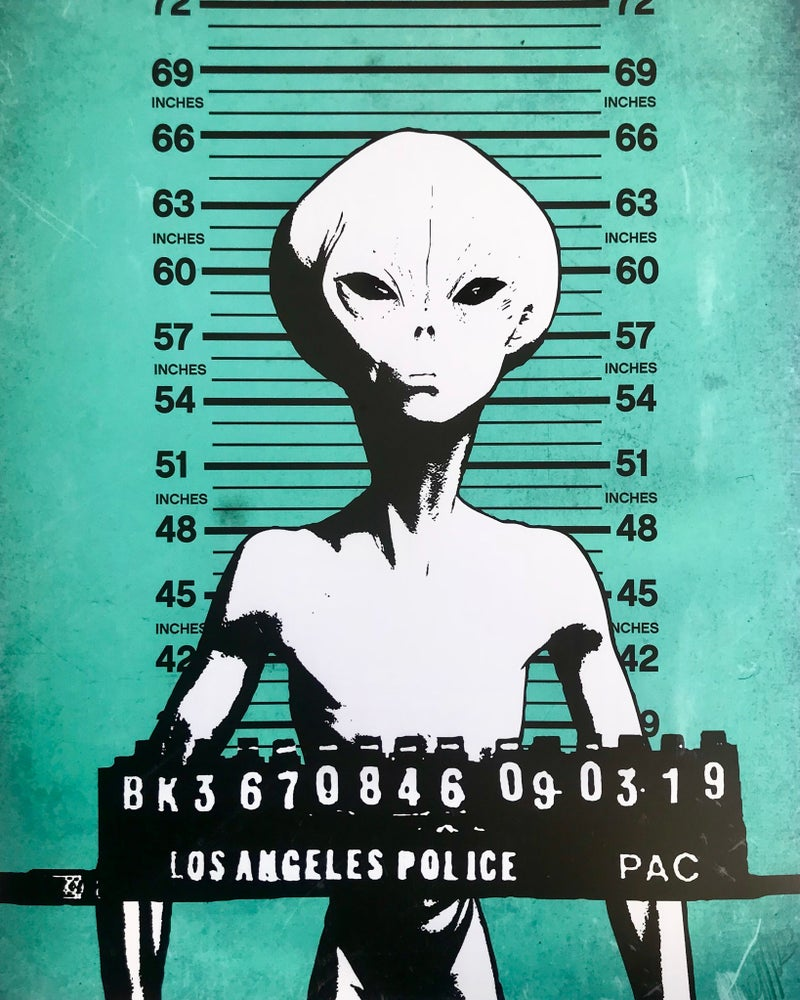 Image of Zeta Reticuli: Convicted (Edition of 30)