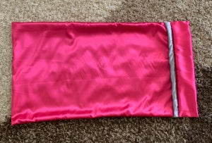 "Image of ""Plain Jane"" Pink&Grey pillowcase"