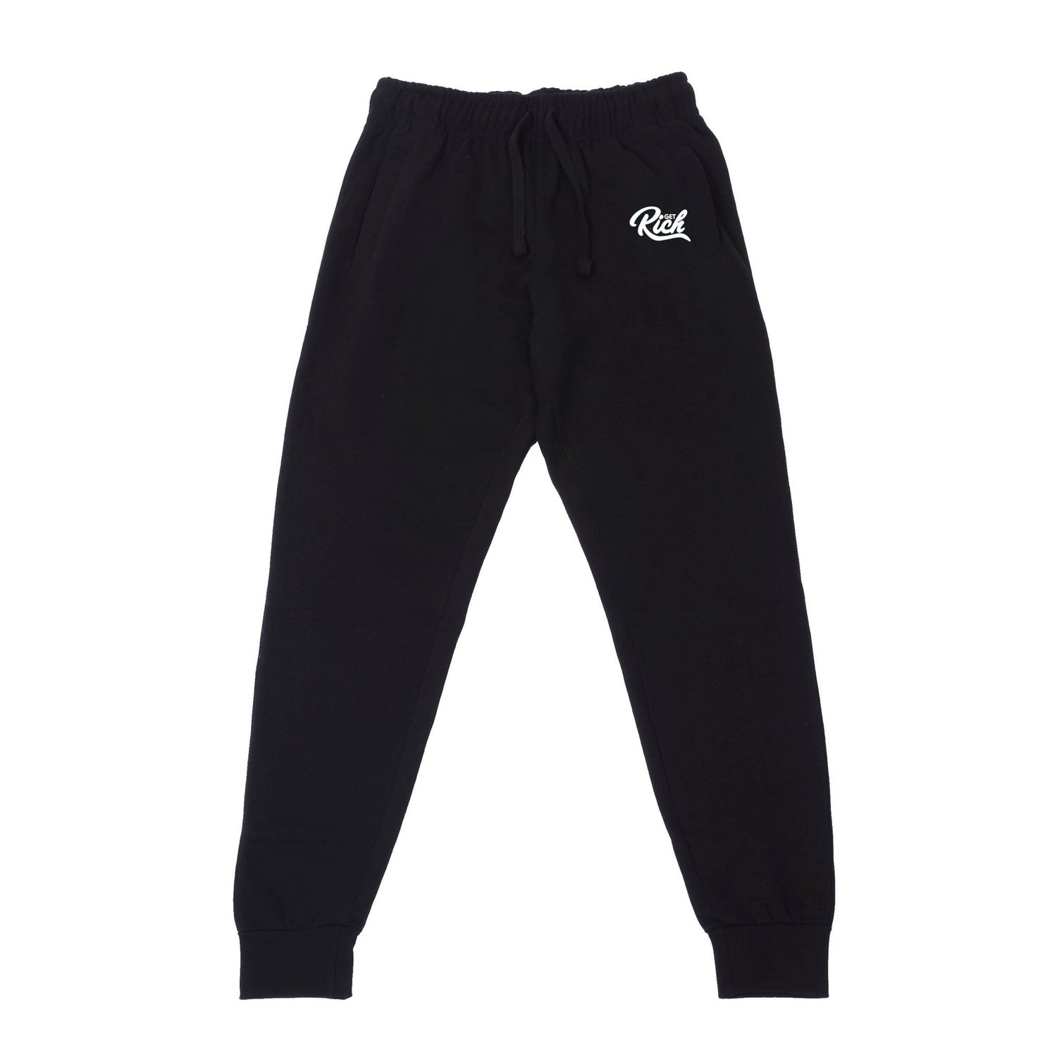 Image of Get Rich Sweatsuit Set - Black