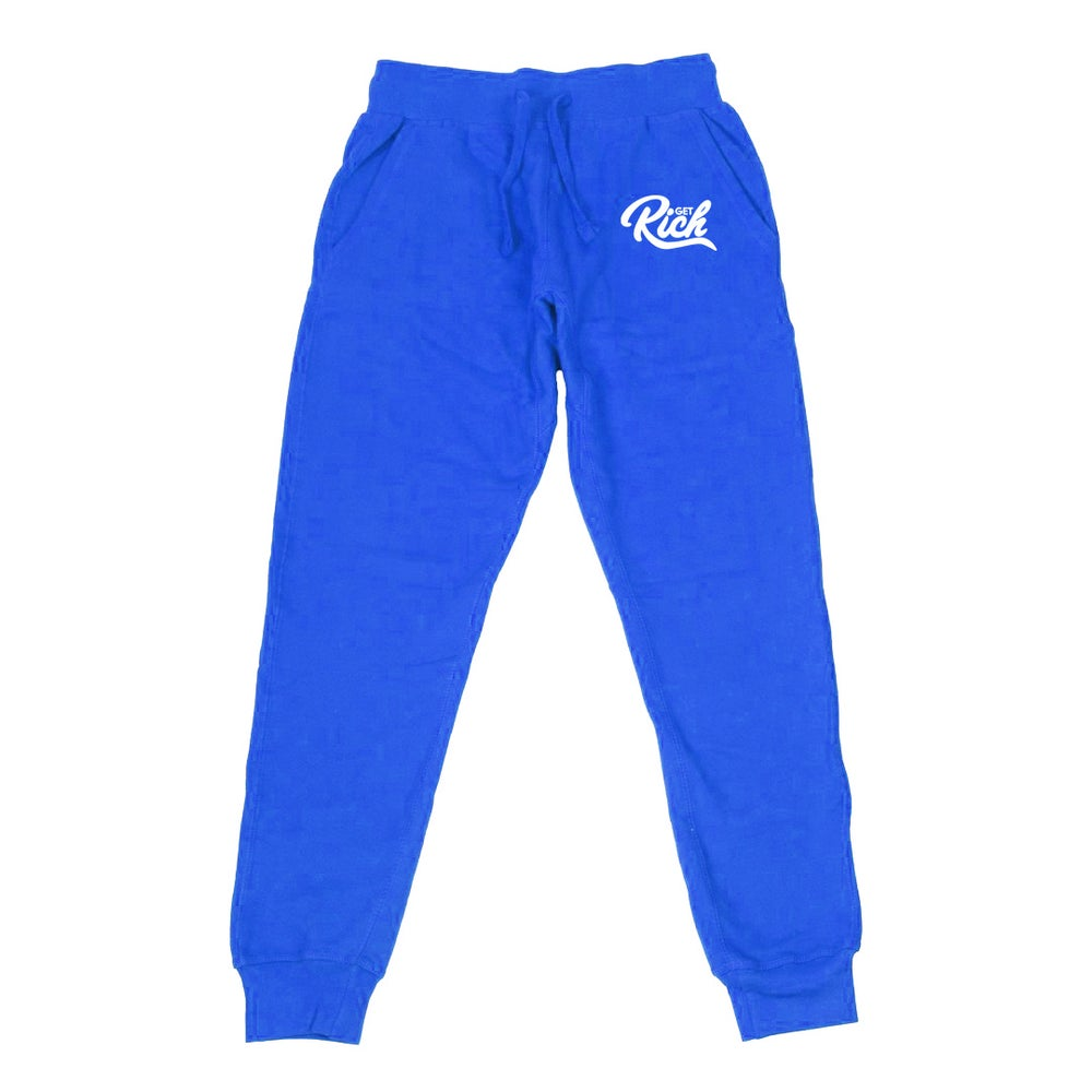 Image of Get Rich - Men's Joggers (Royal Blue)