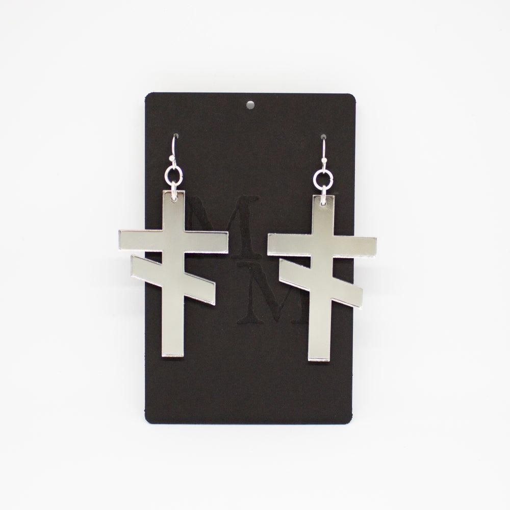 Image of Earring: Thieves' cross