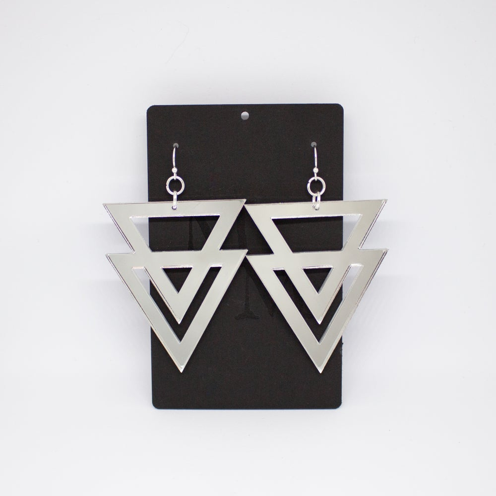 Image of Earrings: Alchemy; Siver