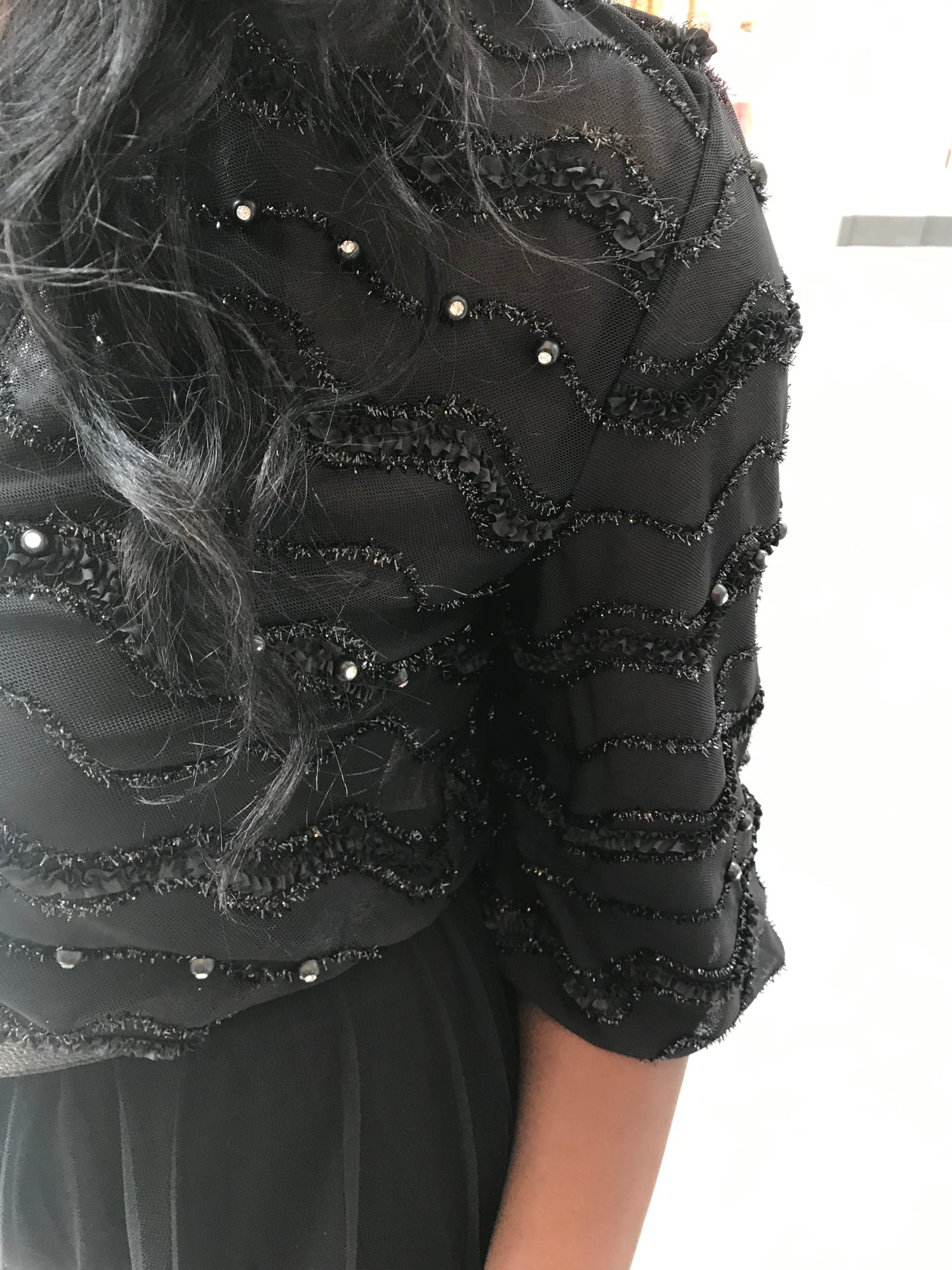 Image of The Black Tulle Jacket