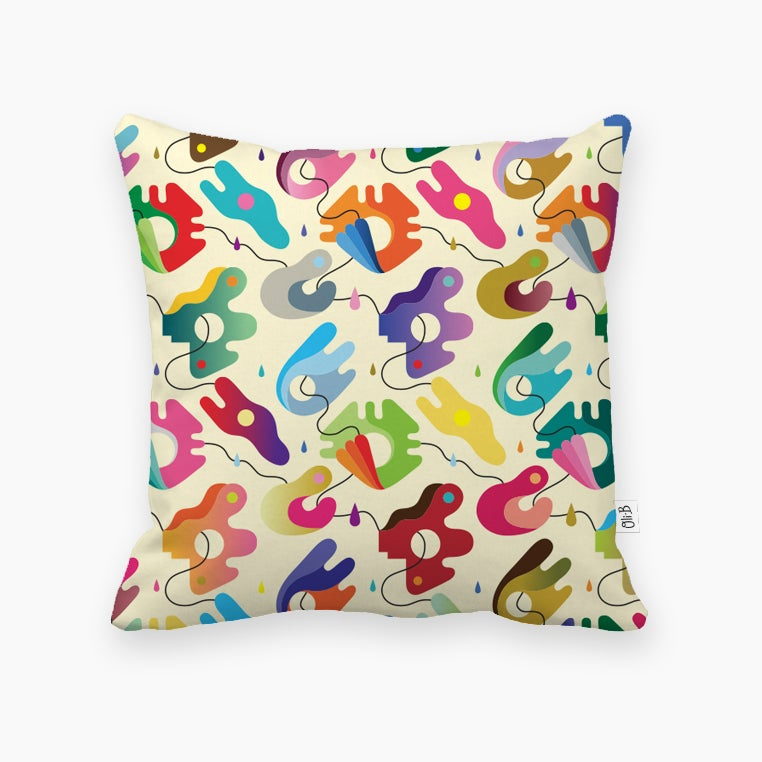 "Image of ""Sixties"" cushion cover"