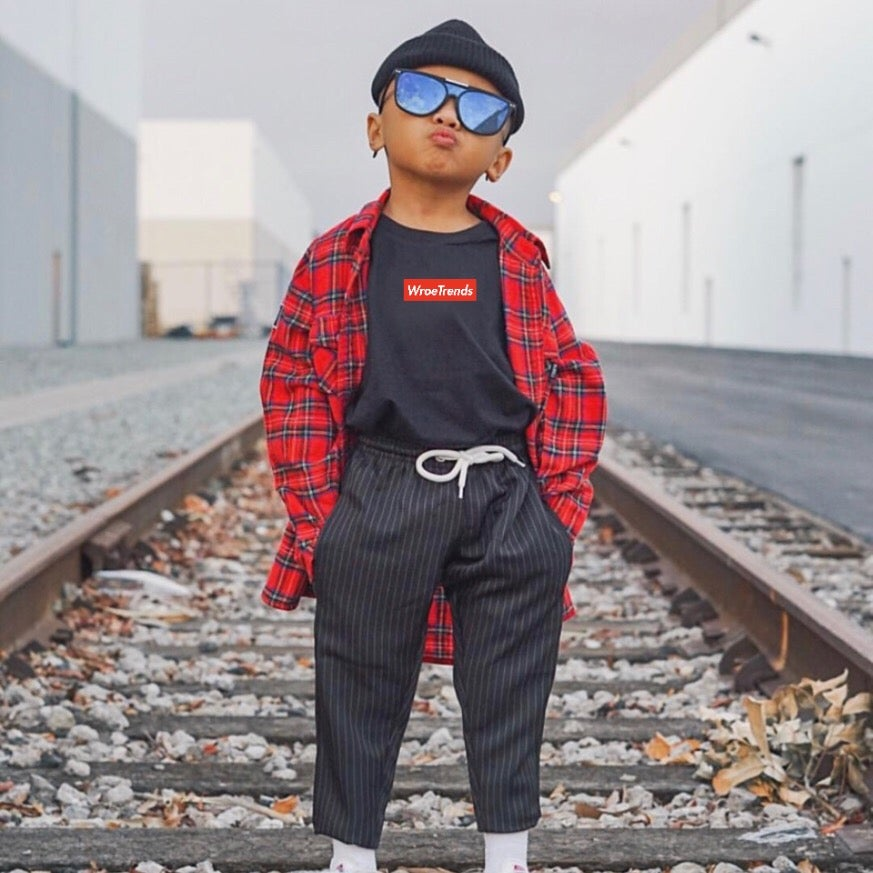 Image of KIDS RED BOX TEE