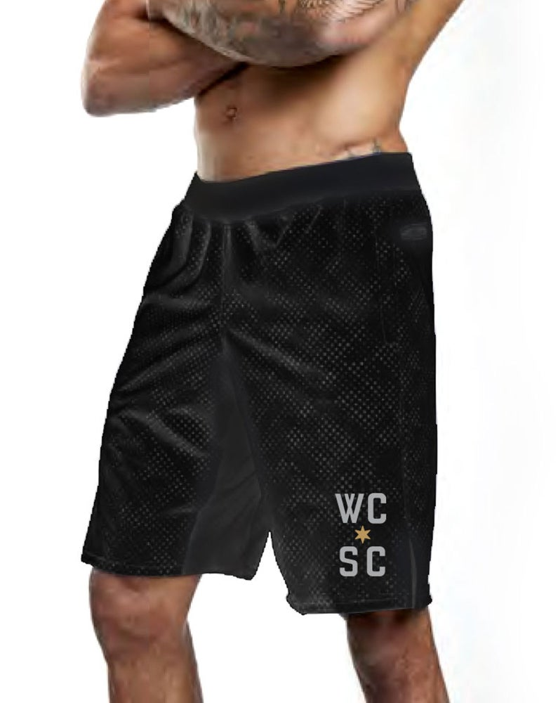 Image of Mens Training Shorts (Black)