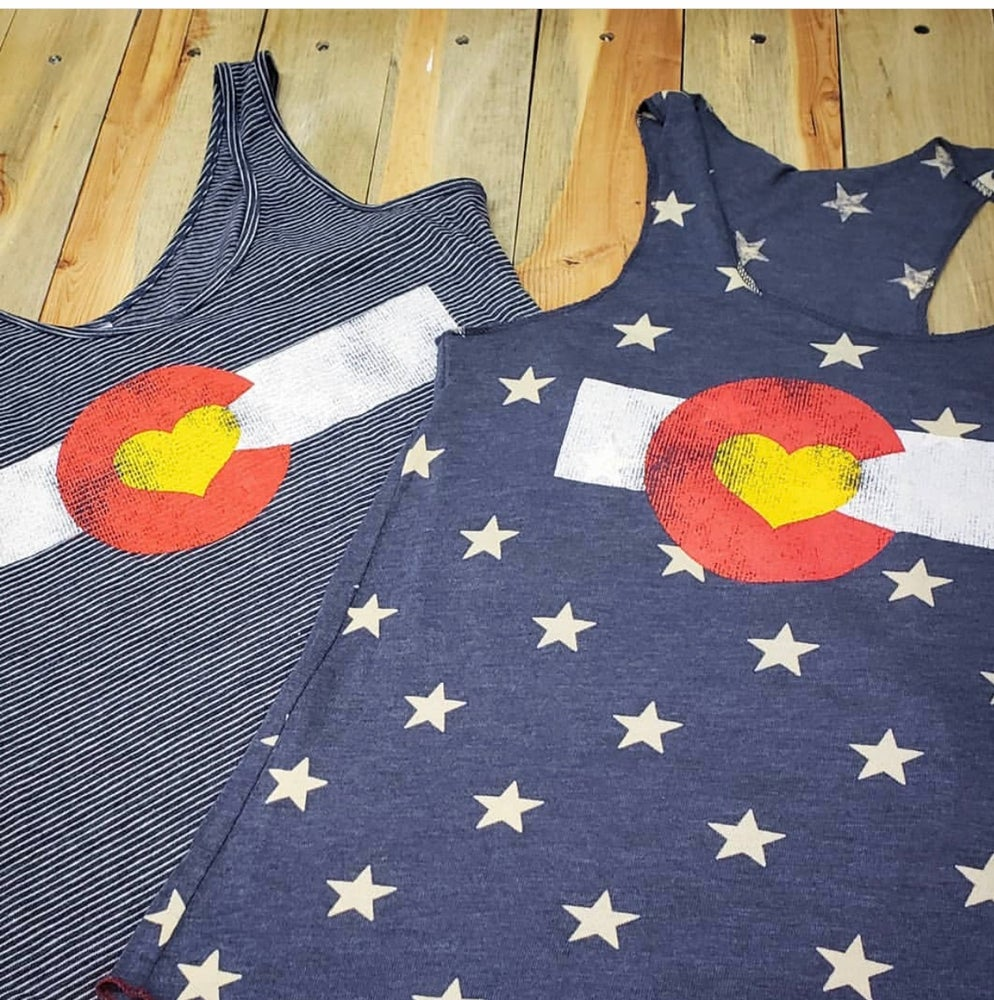 Image of Stars and Hearts Tank