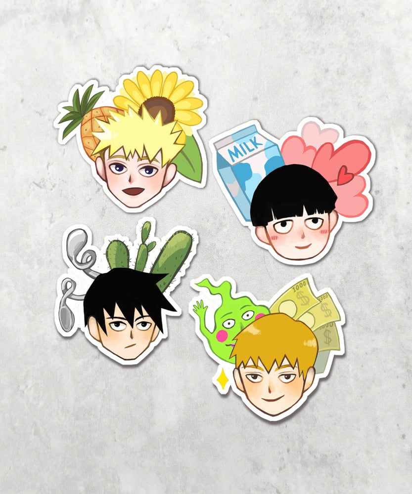 Image of Mob Psycho 100 [Stickers Set]